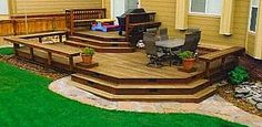 Backyard Deck Designs Back Patio Benches 43 Best Ideas