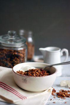 Liebesbotschaft: simple breakfast part I.: best Müsli in the world!
