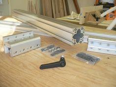 DIY Table Saw Fence #1: Table Saw Fence - by Hutch @ LumberJocks.com ~ woodworking community