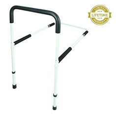 Safety Bed Rail by Vive - Bed Rail for Elderly Care and Protection, Prevents Falls & Injuries - Bed Side Rail Adjusts to Fit All Bed Sizes - Easy Clean Bed Guard - Lifetime Guarantee VIVE http://www.amazon.com/dp/B01577KLC2/ref=cm_sw_r_pi_dp_SqZ9wb0J9676Y