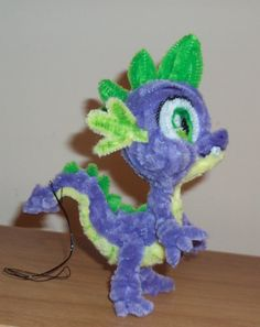 Pipe cleaner Spike by Ponycrafter     pipe cleaner, chenille stem, sculpture, art, toy, doll, My Little Pony: Friendship is Magic, dragon