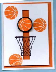 Spinning basketball by Motherof6 - Cards and Paper Crafts at Splitcoaststampers
