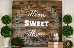 Our Southern Home | BEST of DIY Link Party and My Top DIYs | http://www.oursouthernhomesc.com