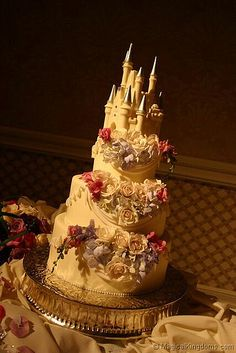 disney wedding cake