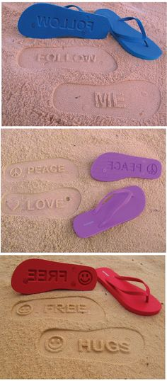 Flip Side Flipflops, i wonder if these can be customized