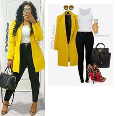 Curvy Girl Outfits, Curvy Girl Fashion, Cute Fashion, Plus Size Outfits, Plus Size Fashion, Fashion Outfits, Classy Work Outfits, Smart Casual Outfit, Stylish Outfits