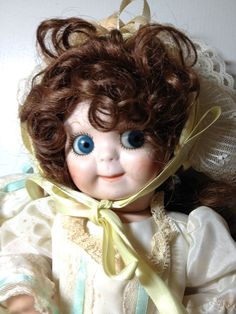 ANTIQUE LARGER GERMAN JDK KESTNER GOOGLY EYE DOLL