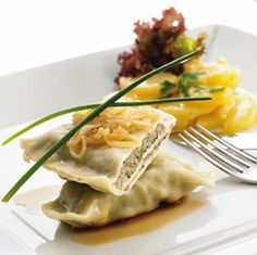 Maultaschen -- one of my favorite foods from Germany :)