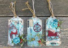 Christmas tags - Sonia Thomason