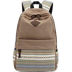 VLike Rücksack Rucksack Backpack Daypack Schulranzen Schulrucksack Wanderrucksack Schultasche Rucksack für Schülerin Mädchen (Dunke Blau-3)