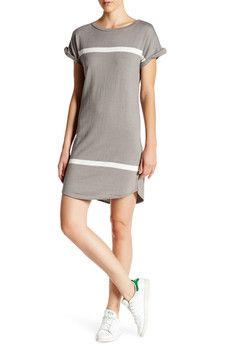 360 Cashmere - Harley Stripe Shirt Dress