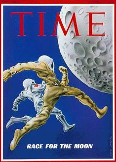 Front Cover Space Race in TIME