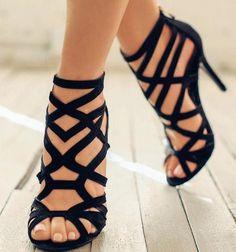 Tacones I these Con beautiful shoeoftheday Zapatos like Blackhighheels stiletto iloveshoes p6wpzrgq