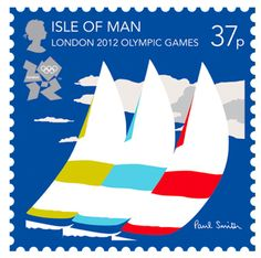 postage, Olympic, Olympic Stamps, London Olympics, 2012 Olympics, London 2012, London 2012 Olympics, London 2012 Olympic stamps, sir paul smith, isle of man, sail, sailing