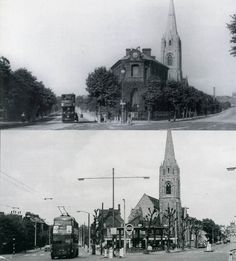 "In the top picture, the building facing the camera is the Anethaeum. British History Online gives the following information;  ""The Athenaeum, Camden Road, was built in 1871 at the junction of Camden and Parkhurst roads, after appeals for a literary and scientific institution for the area. The building of brick and terracotta was designed by F. R. Meeson in an Italianate style. It contained meeting halls, libraries, and a hall for theatrical and musical performances, seating 600. It was l..."