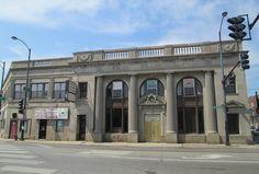 Michelle's Ballroom (former Immel State Bank), Belmont/California/Elston, Chicago   by katherine of chicago