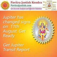 #PavitraJyotish #Horoscope As important aspects in your life are going to change due to Jupiter Transit, Get a personalised Jupiter Transit report for detailed prediction: http://www.pavitrajyotish.com/personalised-transit-report-of-jupiter-guru-planet/  #Astrology #Guidance #Jupiter #Transit #Gochar #Questions #Problems #Remedies #Future #Astrology_Advice #Kundali #Astrologer
