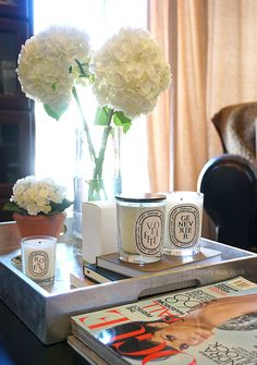 The Beauty Look Book: Diptyque Violette & Genevrier Candles