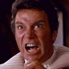 """KAHN!"" (Still from film) 'Star Trek II - The Wrath of Kahn'"