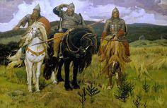 Три богатыря. Виктор Васнецов