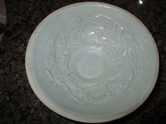 Qingbai Celedon Bowl with Phoenixes in Relief - Song Dynasty, 12th-13th Century
