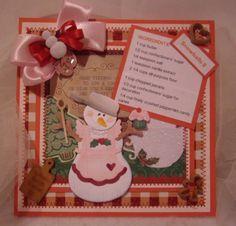 Snowlady Chef -Recipe Card