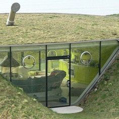 Looks like an underground home!