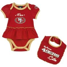 NFL Jersey's Nike San Francisco 49ers Infant Customized Game Team Color Jersey