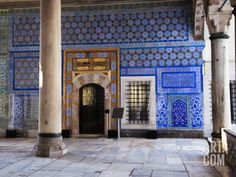 Iznik Tiles Adorning the Circumcision Room at Topkapi Palace Photographic Print by Kimberley Coole at Art.com