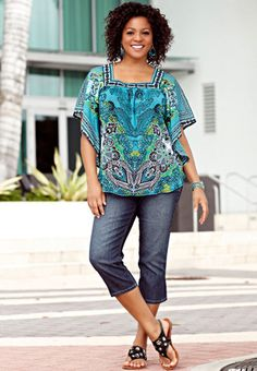 9913218782 Thinking this top for the wedding with a sleek pair of slacks. Love the  colors