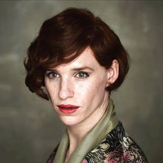 100% Convincing ... Eddie Redmayne in The Danish Girl