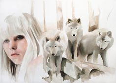 Jen Mann #aquarela