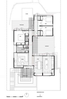 Roberto Benito, Gonzalo Viramonte · Horizontal House | Houses/plans ...