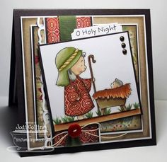 O Holy Night! by Kharmagirl - Cards and Paper Crafts at Splitcoaststampers