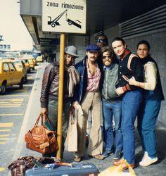 WEATHER REPORT: Wayne Shorter, Joe Zawinul, Bobby Thomas, Jaco Pastorius & Ingrid Pastorius..