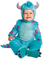 Baby boy sulley costume