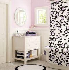 Cute bathrooms on pinterest storage cart bathroom and diy makeup for Cute bathroom ideas for teenage girls