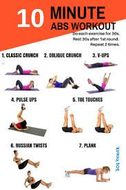 Image result for 10 minute workout