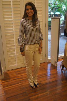Calça couro off Patricia Vieira e Camiseta estampada Super Suite 77 para CAMILA DO RIO