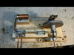 DIY Homemade Steam Engine Running - Made Without Any Machining Steam Generator, Power Generator, Mini Steam Engine, Stirling Engine, Road Train, Alternative Energy, Locomotive, Cool Things To Make, Wine Rack