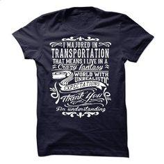 I Majorted In Transportation - #tshirt typography #sweatshirt jacket. MORE INFO => https://www.sunfrog.com/LifeStyle/I-Majorted-In-Transportation.html?68278