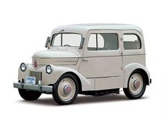Electric cars are nothing new. This baby is a 1947 Nissan Tama.