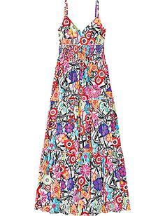 summer sun maxi dress from hanna andersson, $88