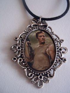 The Walking Dead Daryl Dixon Necklace via Etsy.