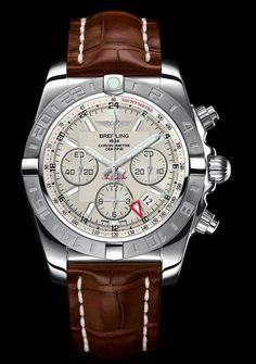 Breitling Chronomat 44 GMT - 44 mm diameter. Steel