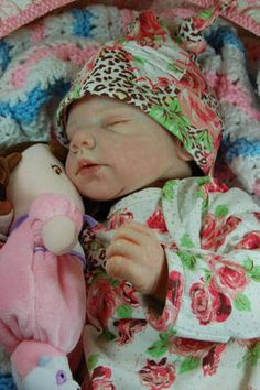 Reborn Tina Kewy's Ellis Darling Baby Girl