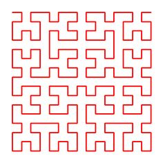 Hilbert Curves Background Templates, Geometric Designs, Carpets, Needlepoint, Patterns, Space, Awesome, Step By Step, Art