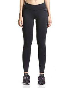 a5a43b40ddc19 Baleaf Women s Ankle Legging Inner Pocket Non See-through Fabric at Amazon  Women s Clothing store