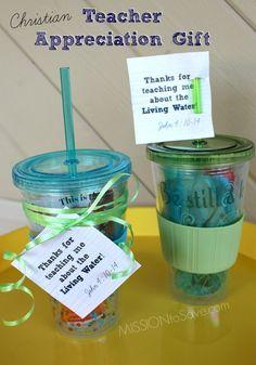 Don't forget Sunday School Teacher Appreciation too! Print these Faith Based Christian Teacher Gift Tags!