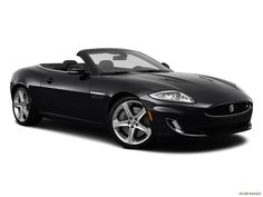 2014 Jaguar XK Convertible XKR-S - Front angle view